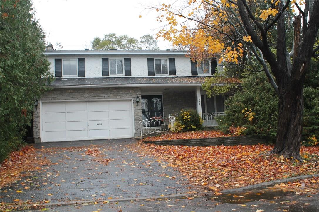 Real Estate Listing 1973 BROMLEY ROAD Ottawa K2A1C3